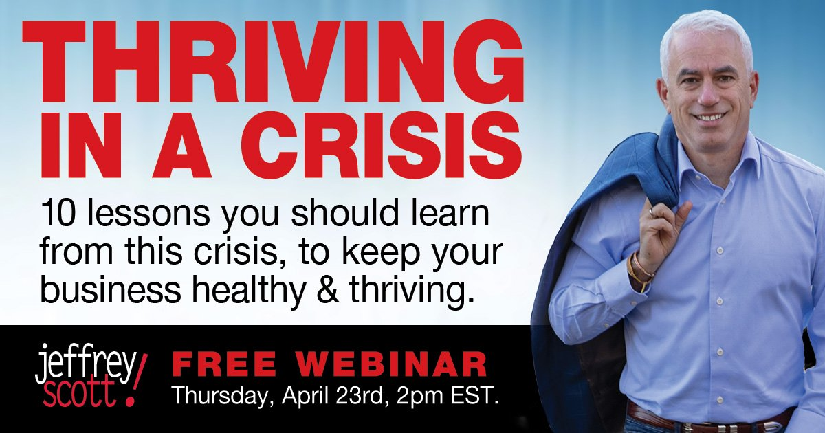 thriving in a crisis free webinar