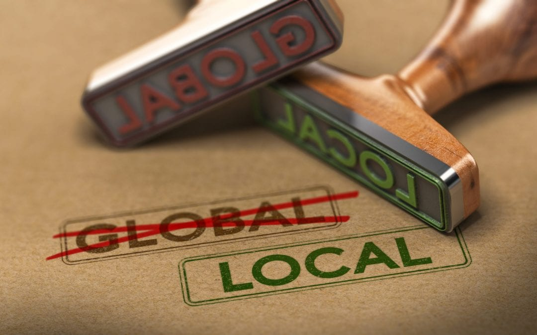 Why Thinking Local Is Critical To Your Recovery
