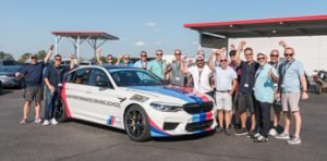 bmw racing group team photo
